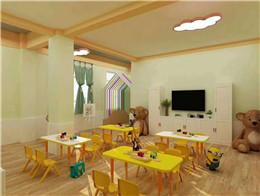壹号贝贝早教中心环境,?#24125;?#23453;拥有安全、温馨、童趣的成长环境