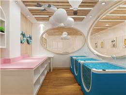 開一家嬰兒游泳館有市場嗎?小魚尼莫店面生意更好